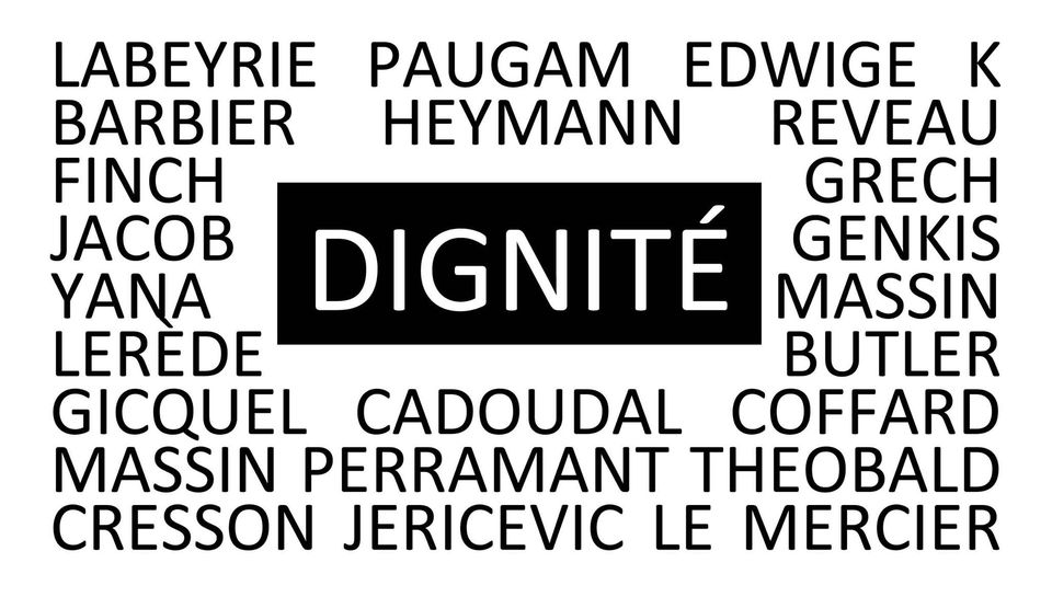 Dignite exposition collectif